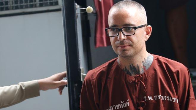 El catalán Artur Segarra, condenado a muerte en Tailandia, confiesa el asesinato de su compatriota.