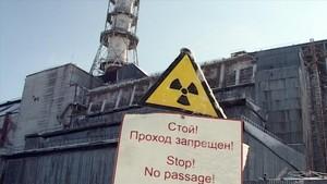 La central nuclear de Chernóbil, en Ucrania, tras el accidente de 1986.