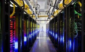 Centro de almacenamiento datos de Google en Iowa, Estados Unidos.