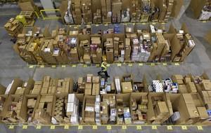 Centro logístico de Amazon en San Ferando de Henares.