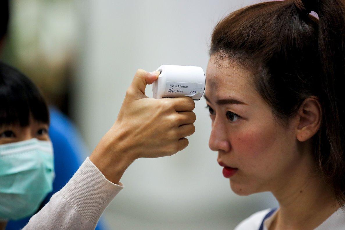 Control de temperatura en la lucha contra el virus.