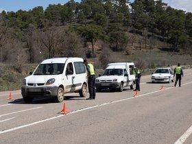 Controles de tráfico para evitar desplazamientos en Semana Santa
