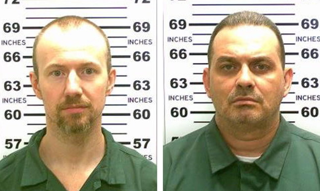 Davis Sweat (izquierda) y Richard Matt, los dos presos fugados de la prisión Clinton, en Nueva York.