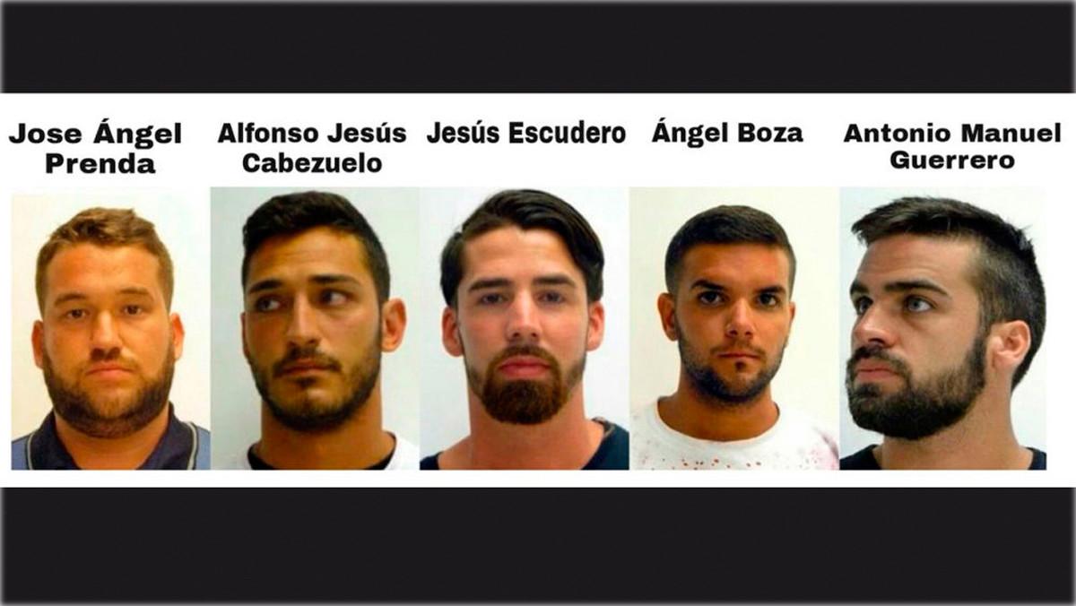Qui és qui a 'la Manada' de Sant Fermí: els 5 condemnats, un per un