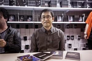 El dibujante Junji Ito, en el Salón del Manga.