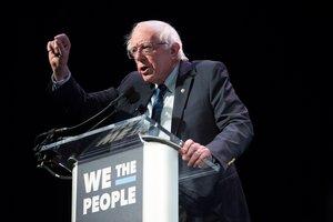 Bernie Sanderssenador independientey aspirante a la candidatura presidencial democrata de los EEUU. EFE
