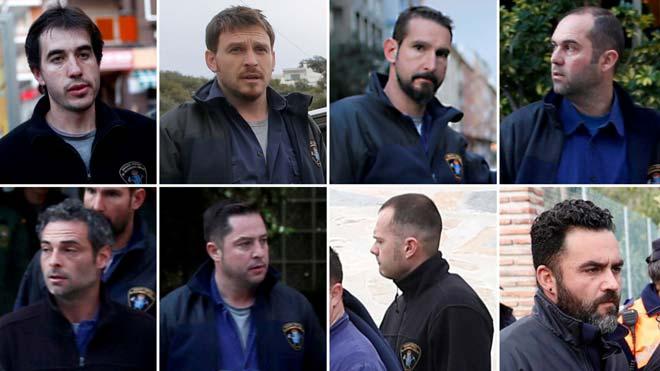 Estos son los ocho mineros del rescate de Julen.