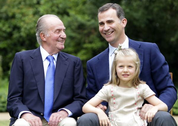 Fotografía de archivo (10/09/2012) facilitada por la Casa de Su Majestad el Rey cuando se estrenó la nueva web de la Casa Real.