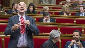 Germà Bel, durante su etapa como diputado de Junts pel Sí, en el Parlament.