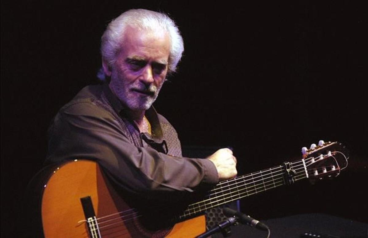 El guitarrista Manolo Sanlúcar.