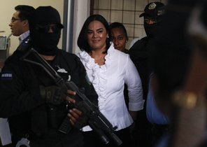 Rosa Elena Bonilla, esposa del expresidente de Honduras, Porfirio Lobo.