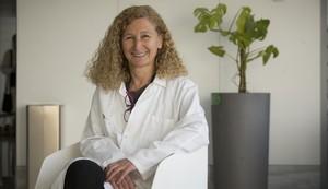 La doctora Gemma Carreras, pediatra especializada en obesidad infantil, en el Hospital de Sant Pau.