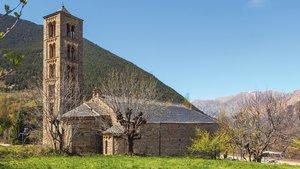 La iglesia de Sant Climent de Taüll, en Lleida