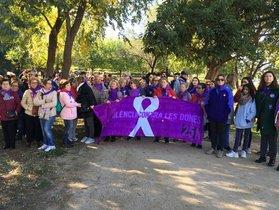 Imagen de la 7ª marcha contra la violencia machista del Baix Llobregat