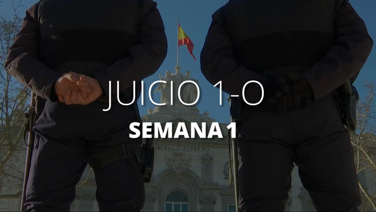 Juicio del Procés: La primera semana del juicio a los líderes independentistas