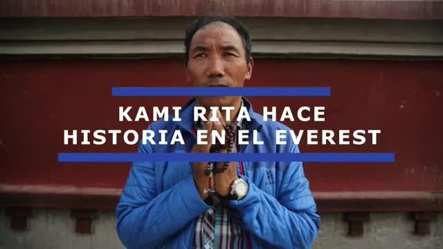 El nepalí Kami Rita, la persona que más veces ha estado en la cima del mundo, volvió a batir hoy su propio récord al coronar el Everest (8.848 metros) por vigésimo tercera vez, por encima de las 21 escaladas de Apa Sherpa y Phurba Tashi Sherpa.