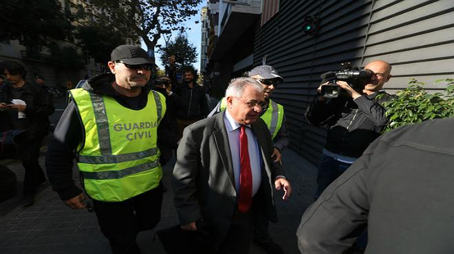 Reunió d'Andreu Viloca, tresorer de Convergència, amb fins a set empresaris, tots imputats en l'operació Petrum.
