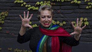 La legendaria rumbera Maruja Garrido
