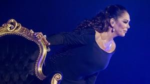 Isabel Pantoja, en concierto.