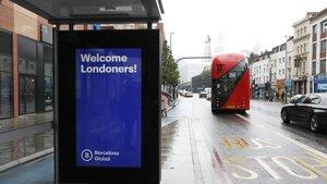 Així es promociona Barcelona a Londres