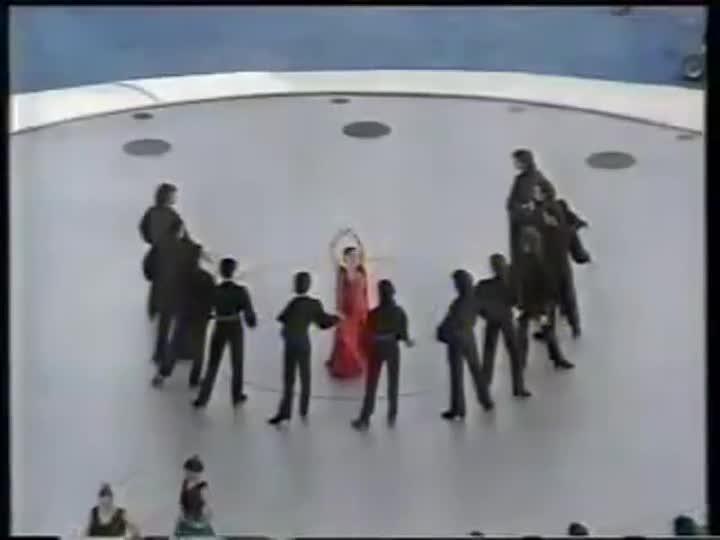 Los JJ.OO de Barcelona '92. Ceremonia inaugural. Cristina Hoyos