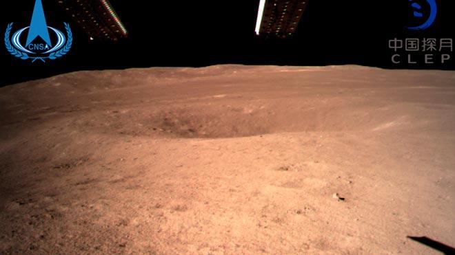 La sonda xinesa Chang'e 4 alluna amb èxit a la cara oculta de la Lluna