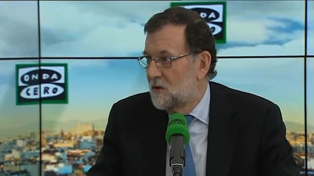 Mariano Rajoy afirma, en una entrevista en Onda Cero, que desconocía que el PP ha pedido la nulidad del juicio del caso Gürtel.
