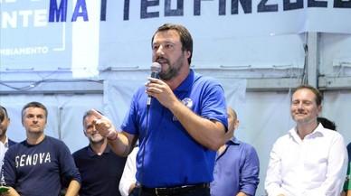 Los inmigrantes y la cita entre Salvini y Orban calientan el ambiente en Italia