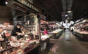 El mercado de la Boqueria.