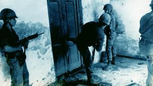 Militares argentinos en una acción represiva, en Tucumán, en 1975.