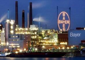 Naves industriales de Bayer en la localidad alemana de Leverkusen.