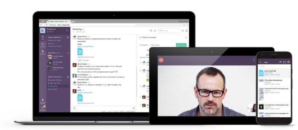 Así es la startup española que une Whatsapp, Dropbox y Slack para empresas