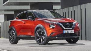El Nissan Juke en su presentación hoy en Barcelona.