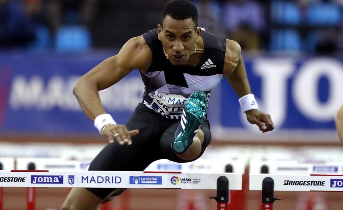Orlando Ortega, favorito en los 60 metros vallas.