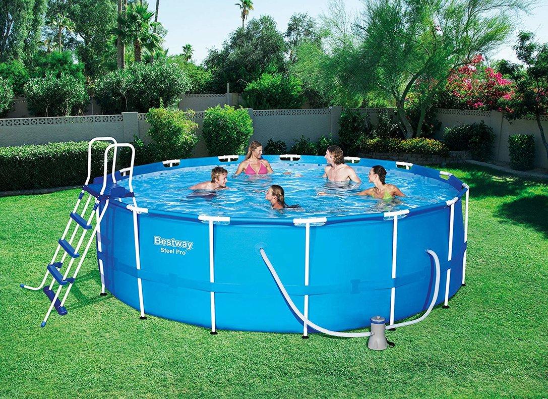 Las mejores piscinas hinchables y desmontables compra online for Piscinas desmontables hinchables