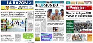 Prensa de hoy: Las portadas de los periódicos del sábado 10 de agosto del 2019