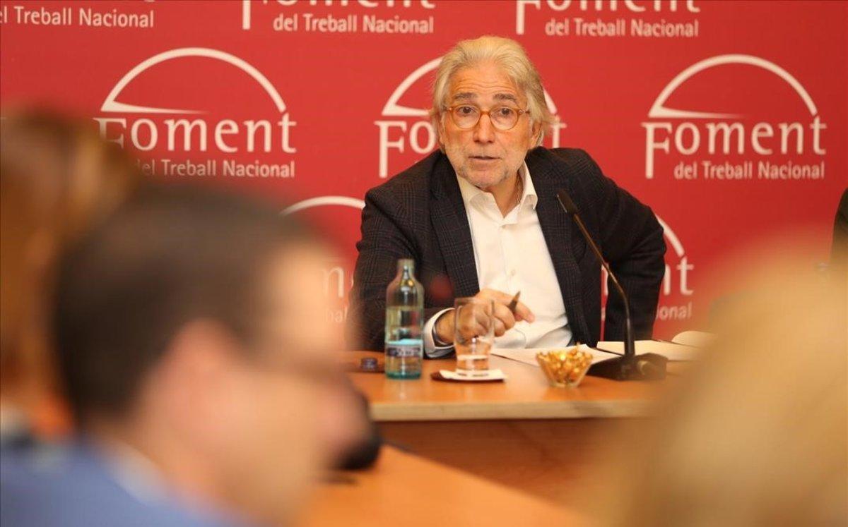 El presidente de Foment del Treball Nacional, Josep Sánchez Llibre.