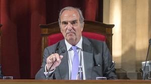 El presidente de Foment, Joaquim Gay de Montellà, en una imagen de archivo.