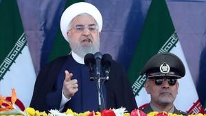 El presidente irani,Hasán Rohaní.