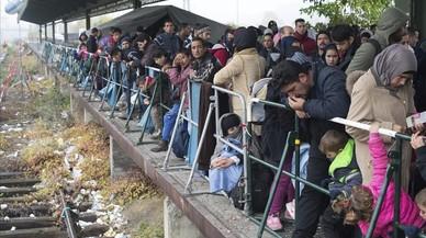 La UE se ahoga entre inmigrantes y refugiados