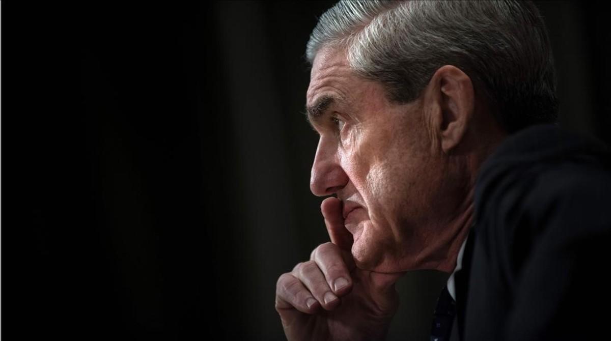 Robert Mueller, en una comparecencia en el Senado cuando era director del FBI, en Washington, el 16 de mayo del 2013.
