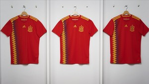 Las nuevas camisetas de Adidas de la selección.