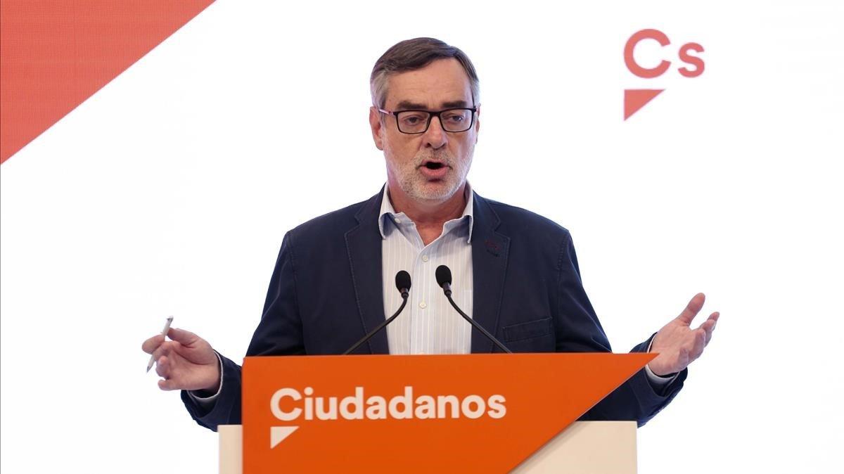 José Manuel Villegas, secretario general de Ciudadanos.