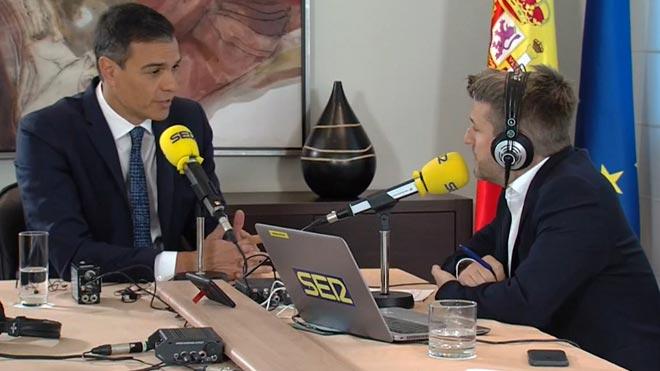 Sánchez: No quiero aplicar un 155 pero mi deber es contemplarlo.