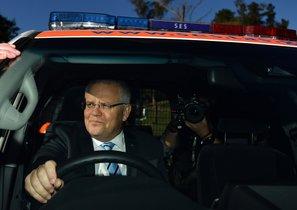Primer ministro de Australia, Scott Morrison.