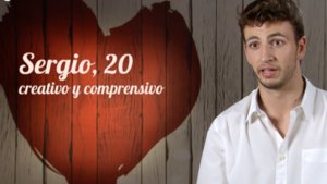 Sergio en 'First Dates'.