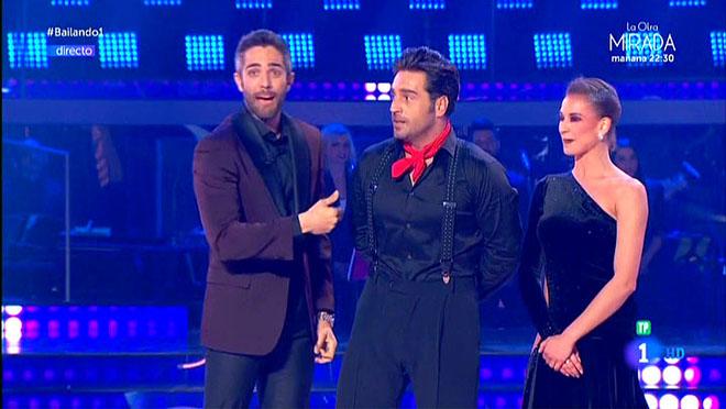Leal, Bustamante y Yana ('Bailando con las estrellas', TVE-1).