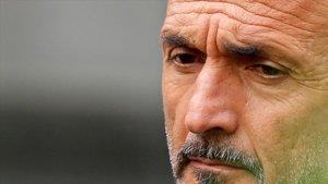 Spalletti, en el duelo del Inter con el Génova en San Siro.