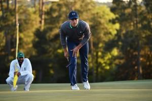 Jordan Spieth frena en la seva ascensió al Masters d'Augusta