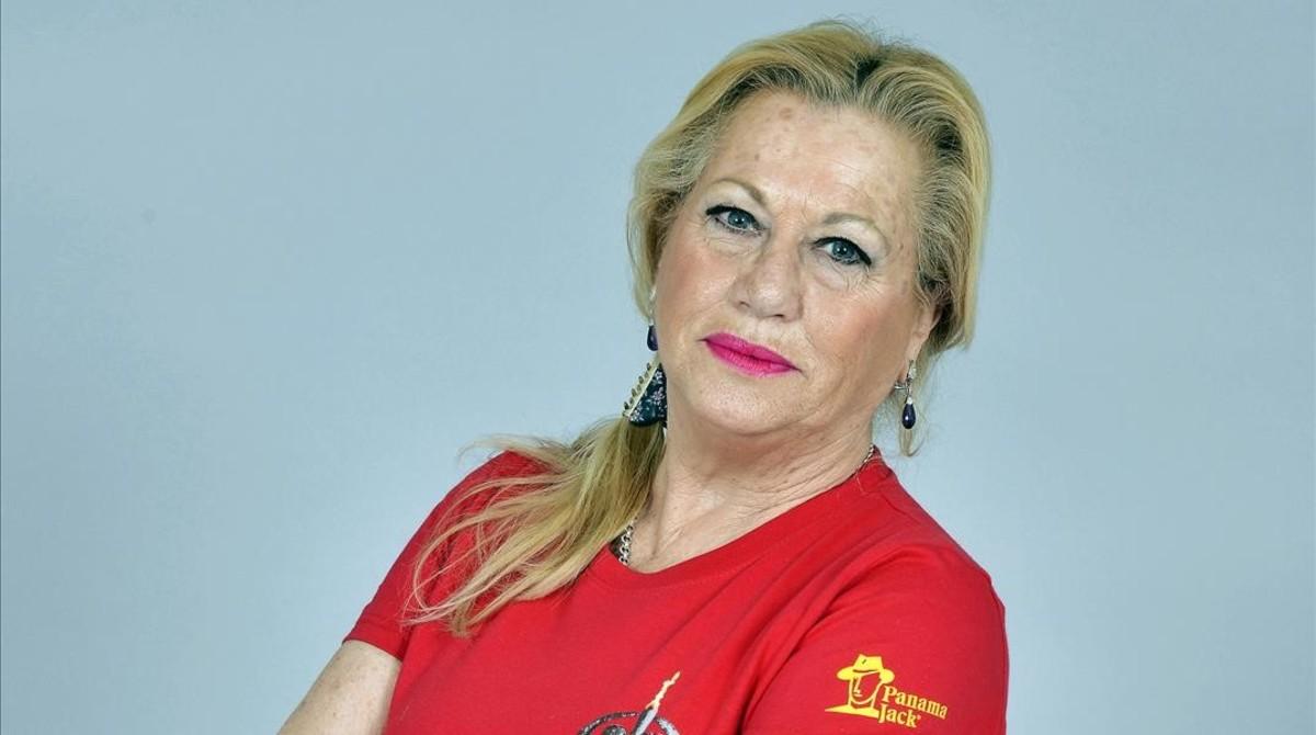 Mayte Zaldívar.